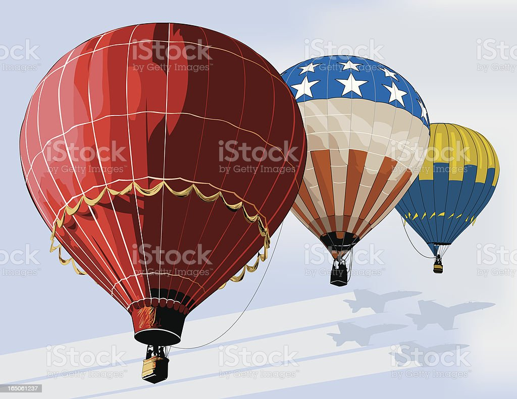 Aviator Dream royalty-free stock vector art