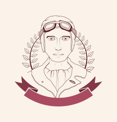 Aviator emblem