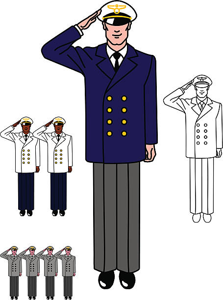 Pilot Uniform – Vektorgrafik