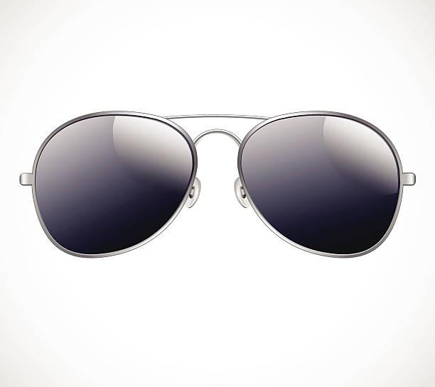 Aviator sunglasses vector illustration background vector art illustration