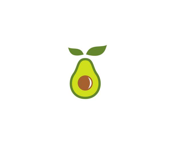 Avocado icon This illustration/vector you can use for any purpose related to your business. avocado stock illustrations
