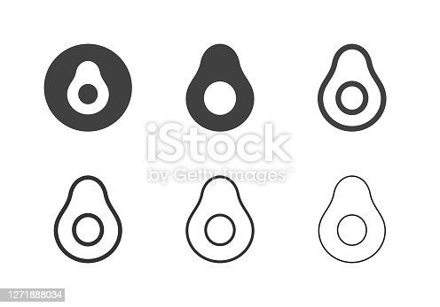 Avocado Icons - Multi Series