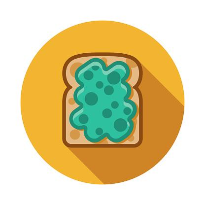 Avocado Toast Bread Icon