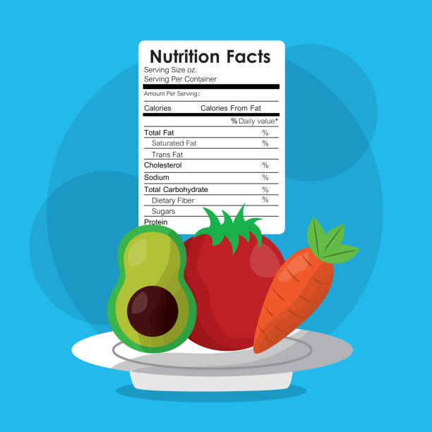 Nutrition Label Illustrations, Royalty-Free Vector ...