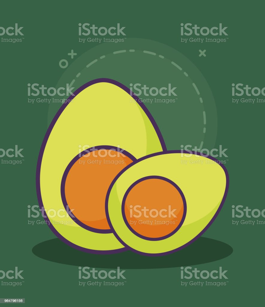 avocado vegetable design royalty-free avocado vegetable design stock vector art & more images of agriculture