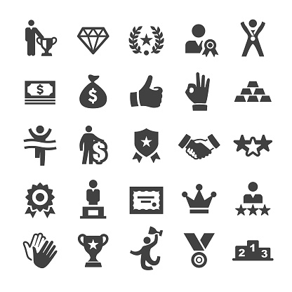 Award and Success Icons - Smart Series