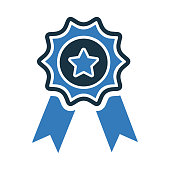 istock Award, best quality icon. Vector graphics 1281578658