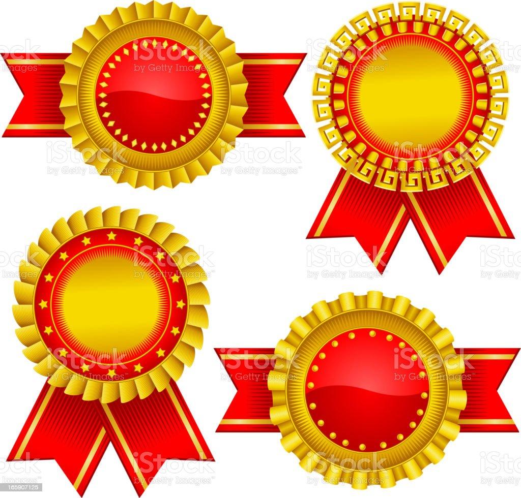 Award Certificate Seal Stamp Stock Vector Art More Images Of Arts