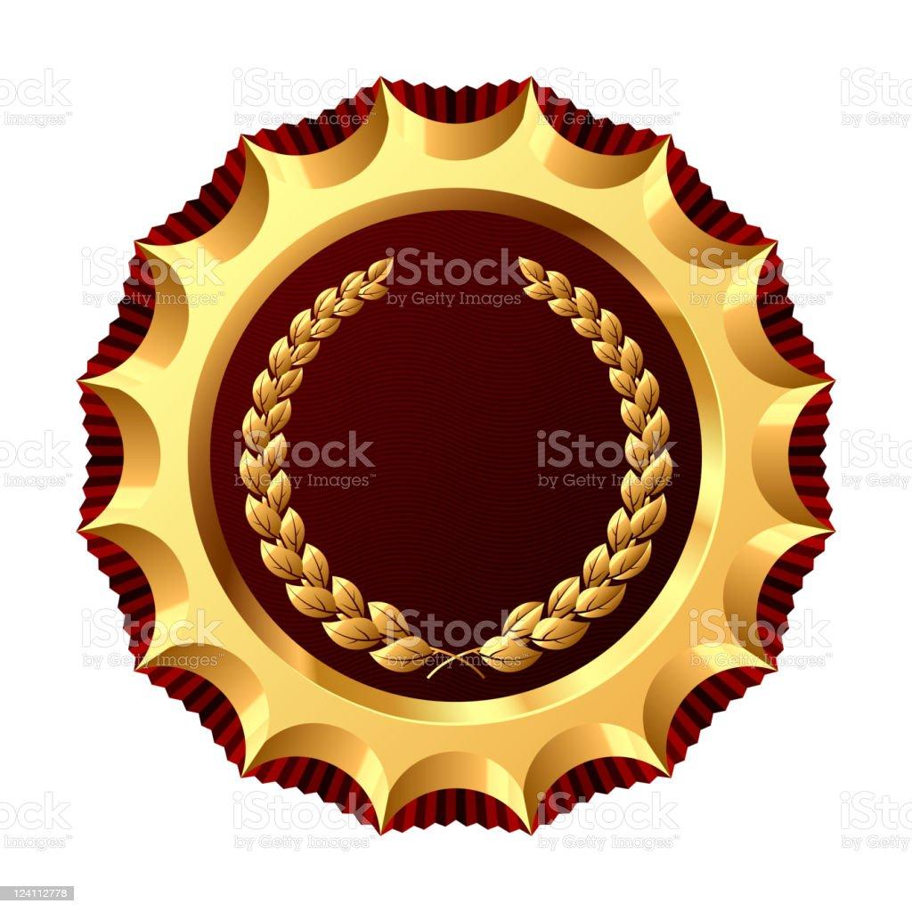 Award for winner royalty-free stock vector art