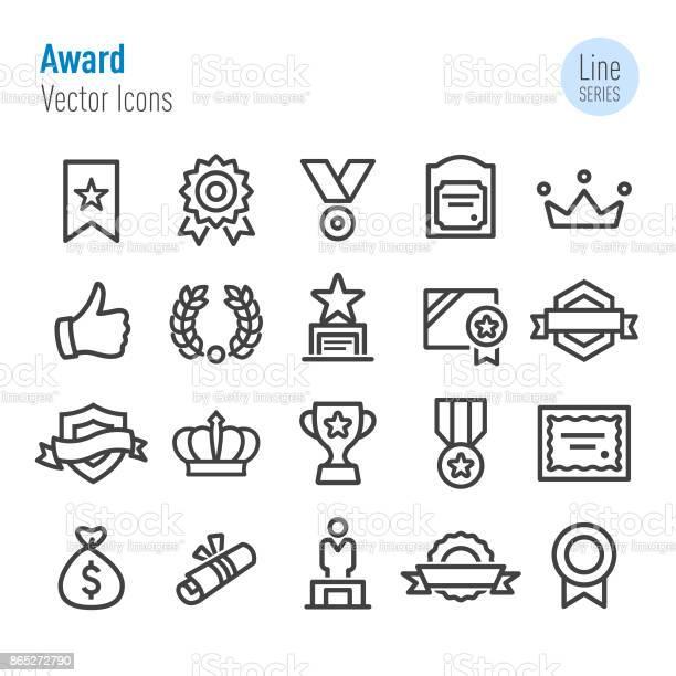Award icons vector line series vector id865272790?b=1&k=6&m=865272790&s=612x612&h=55pjbonitknemk7h4mjig5lzzkeifqrdulcagh78x1m=