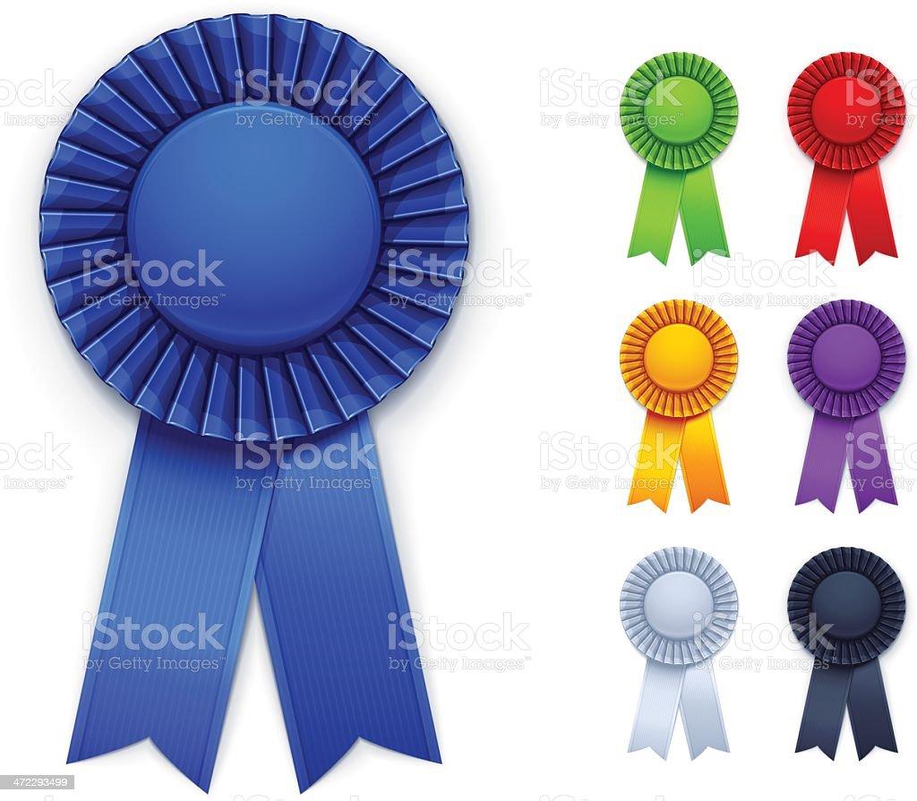 award ribbons stock vector art 472293499 istock