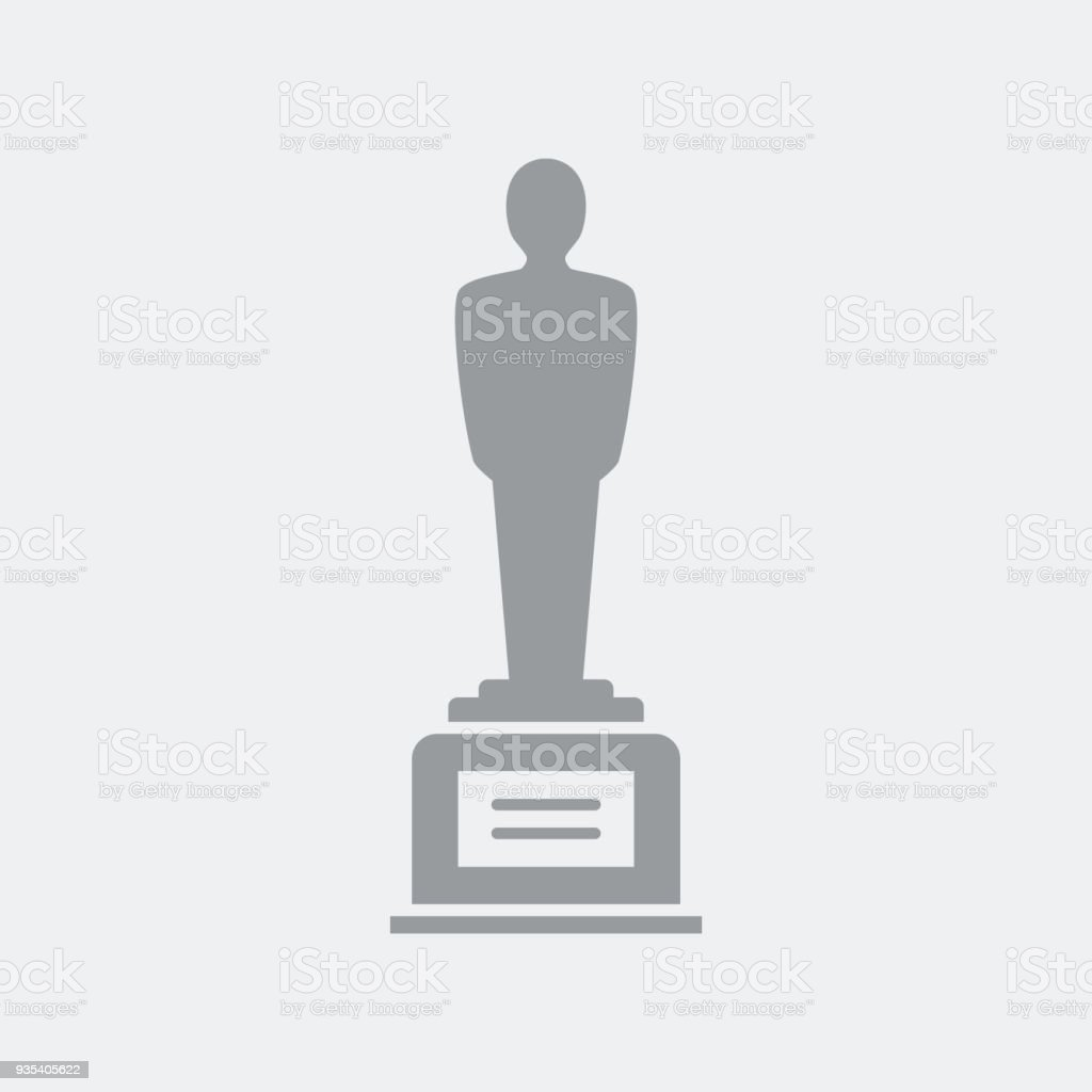 Award winner symbol vector art illustration