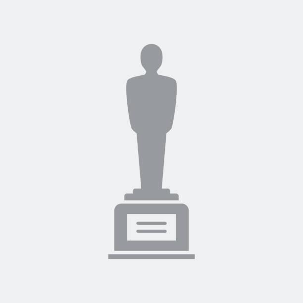 Award winner symbol vector art illustration