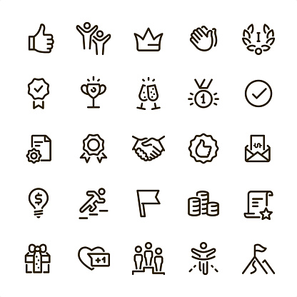 Award Winning - Pixel Perfect line icons