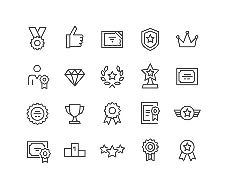Awards Icons - Classic Line Series