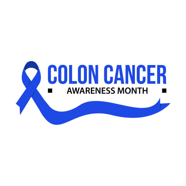 Royalty Free Colon Cancer Ribbon Clip Art Vector Images