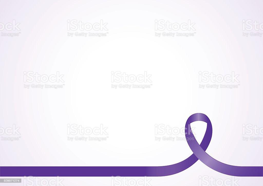 Awareness Ribbon Background vector art illustration