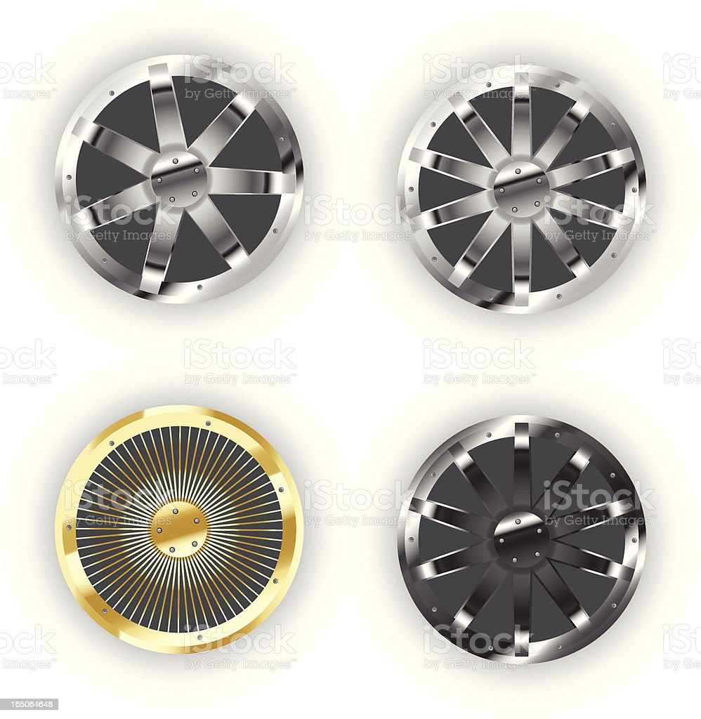Awesome Auto Rims / Wheels royalty-free awesome auto rims wheels stock vector art & more images of at the edge of