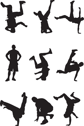 Awesome breakdancers