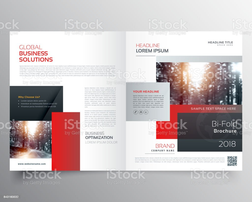 Awesome Magazine Cover Page Design Or Bifold Template Brochure Stock ...