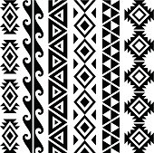 Aztec pattern design collection.