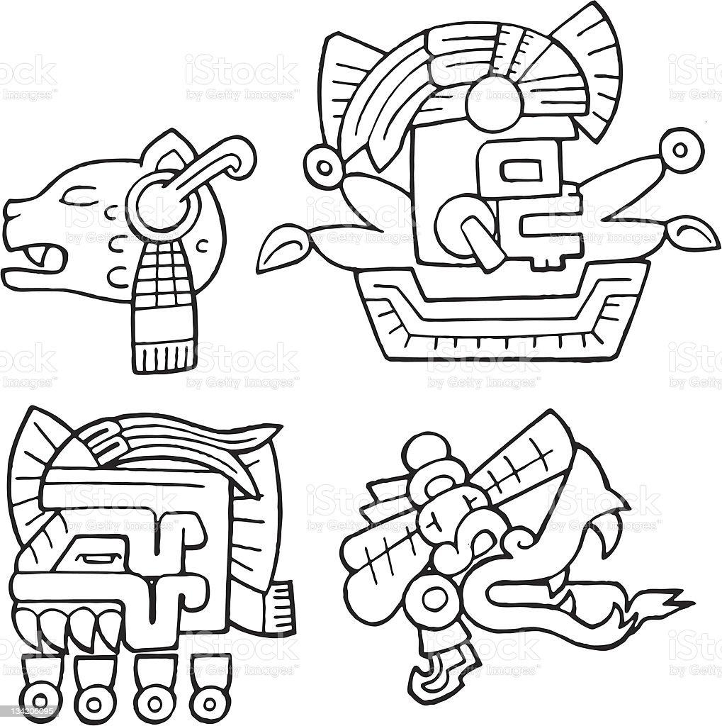 Aztec Suns royalty-free aztec suns stock vector art & more images of aztec civilization