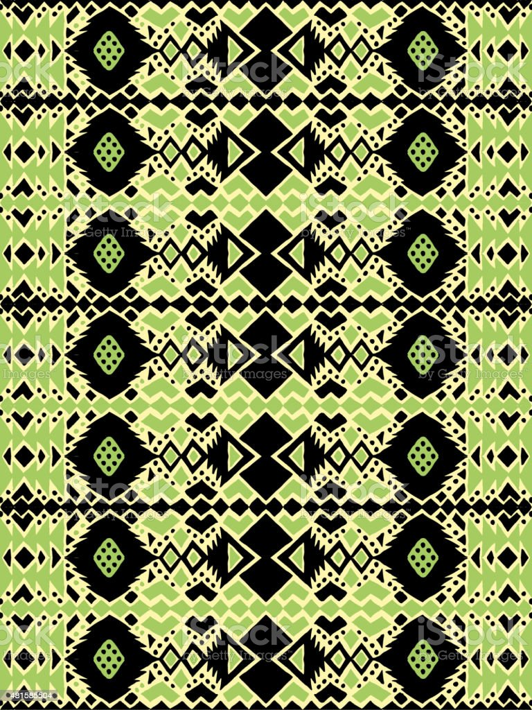 Aztec Tribal Mexican Seamless Pattern Stock Vector Art & More Images