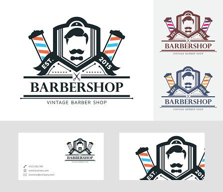 Babershop vector logo
