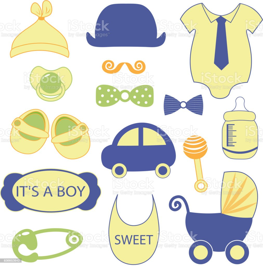 Baby 15 objects clip art set set of baby shower elements isolated on baby 15 objects clip art set set of baby shower elements isolated on white background voltagebd Choice Image
