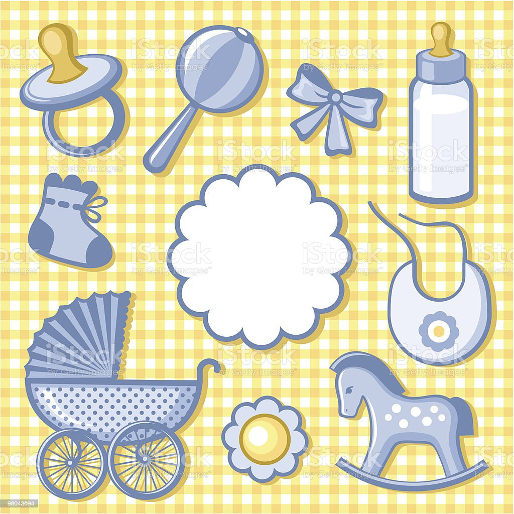baby accesory royalty-free baby accesory stock vector art & more images of baby bib