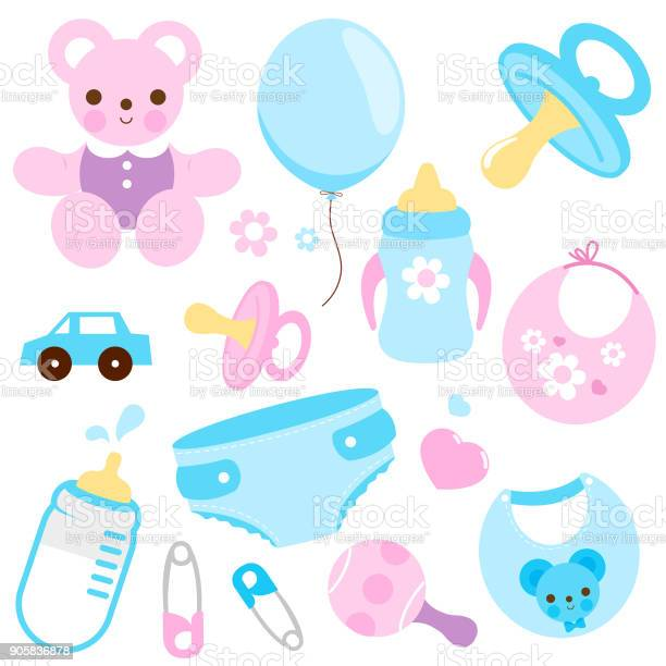 Baby accessories in blue and pink colors vector collection vector id905836878?b=1&k=6&m=905836878&s=612x612&h=o8yp9 aavpsoxtf8lvgy62vpgn2yb7dxo 2d0undbds=