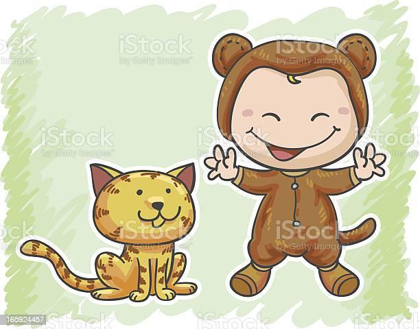 Baby and her lovely cat vector id165924457?b=1&k=6&m=165924457&s=612x612&h=3ty2ctrlwv s6dvnzedkme9c5a r4k 9 nrp0jlp03g=