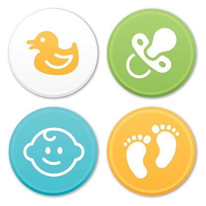 Baby and Infant Icons and Symbols