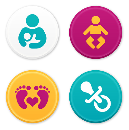 Baby and Parent Icons and Symbols