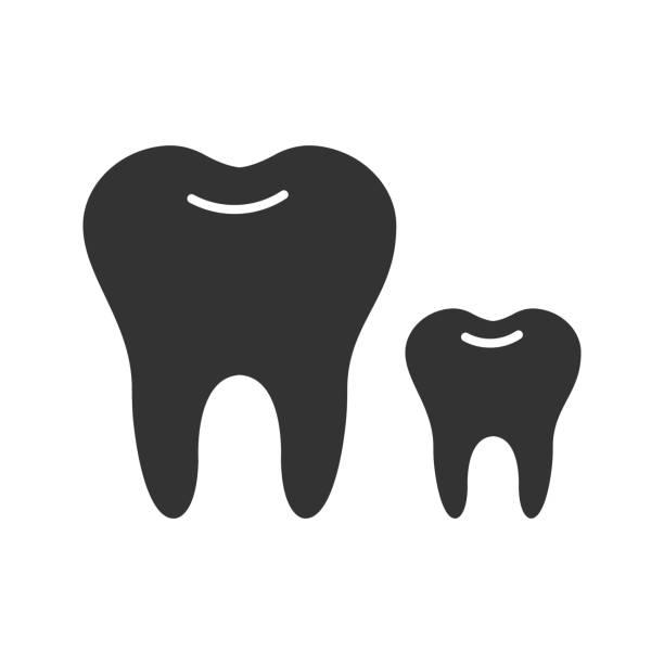 Baby Zahn Vektorgrafiken und Illustrationen - iStock