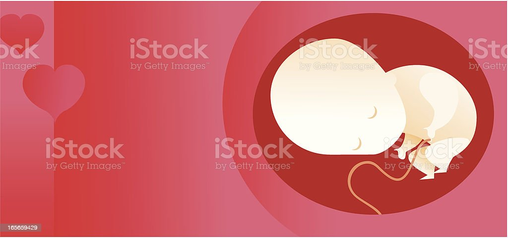 background de bebé vector art illustration