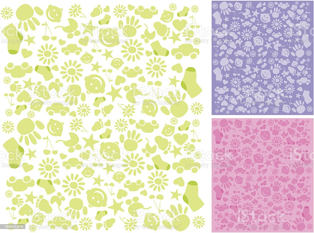 baby backgrounds royalty-free stock vector art