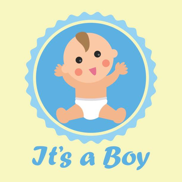 Royalty Free Its A Boy Clip Art, Vector Images ...