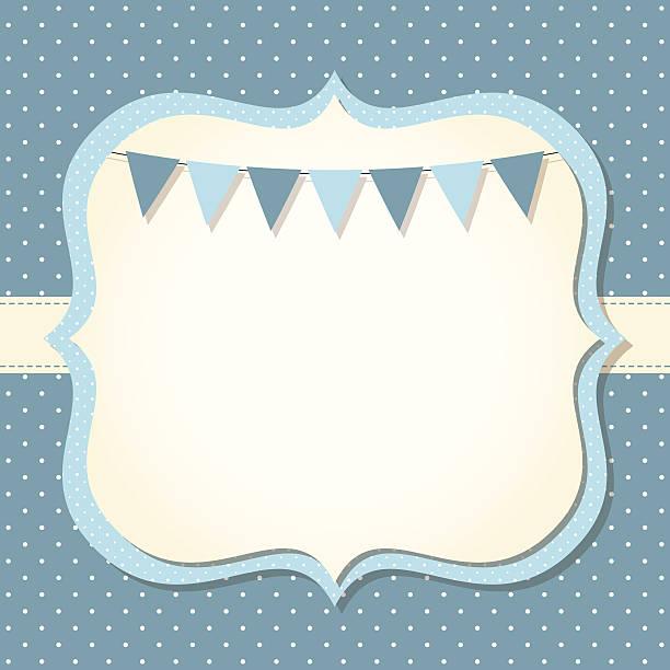 ilustraciones, imágenes clip art, dibujos animados e iconos de stock de bebé niño llegada o tarjeta de la ducha - baby shower