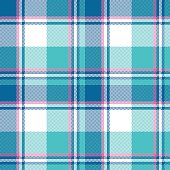 Baby boy blue pastel color plaid seamless pattern. Vector illustration.