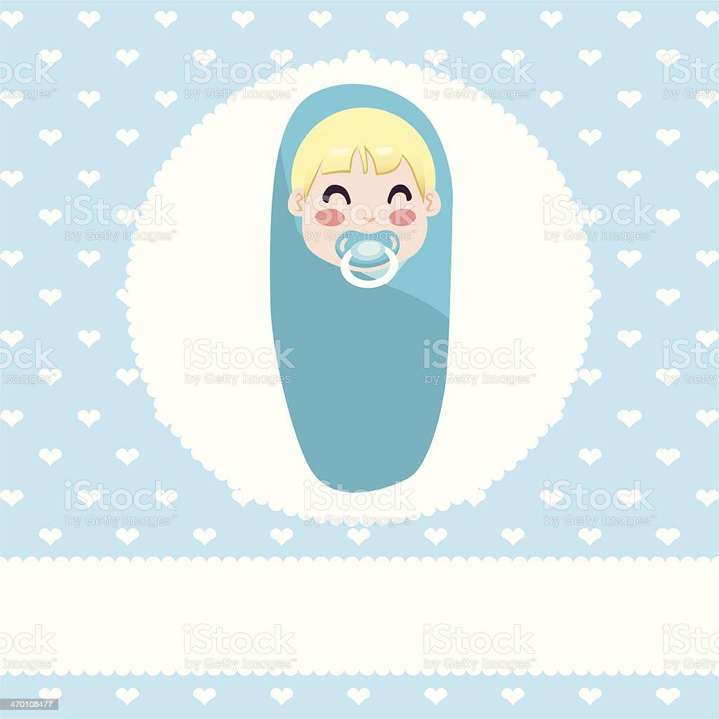 Baby Boy Design royalty-free stock vector art