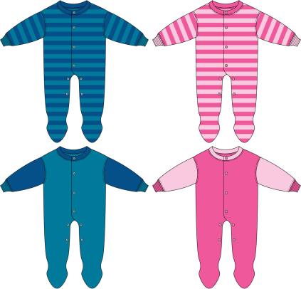 Baby Boy & Girls Sleepsuit