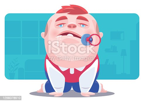 istock baby boy looking at front 1256078510