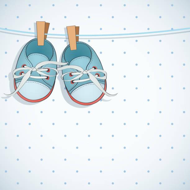 Vectores de Zapato De Bebé y Illustraciones Libre de Derechos - iStock