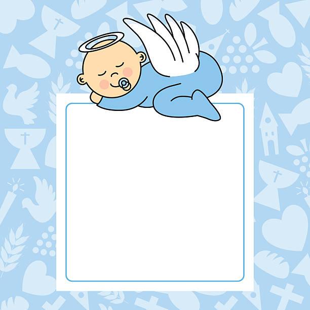 Menino de criança Dormir - ilustração de arte vetorial