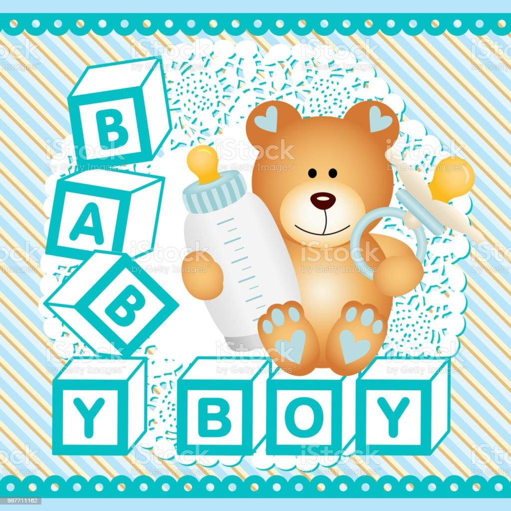 Vetores De Fundo De Ursinho Bebe Menino E Mais Imagens De Alegria