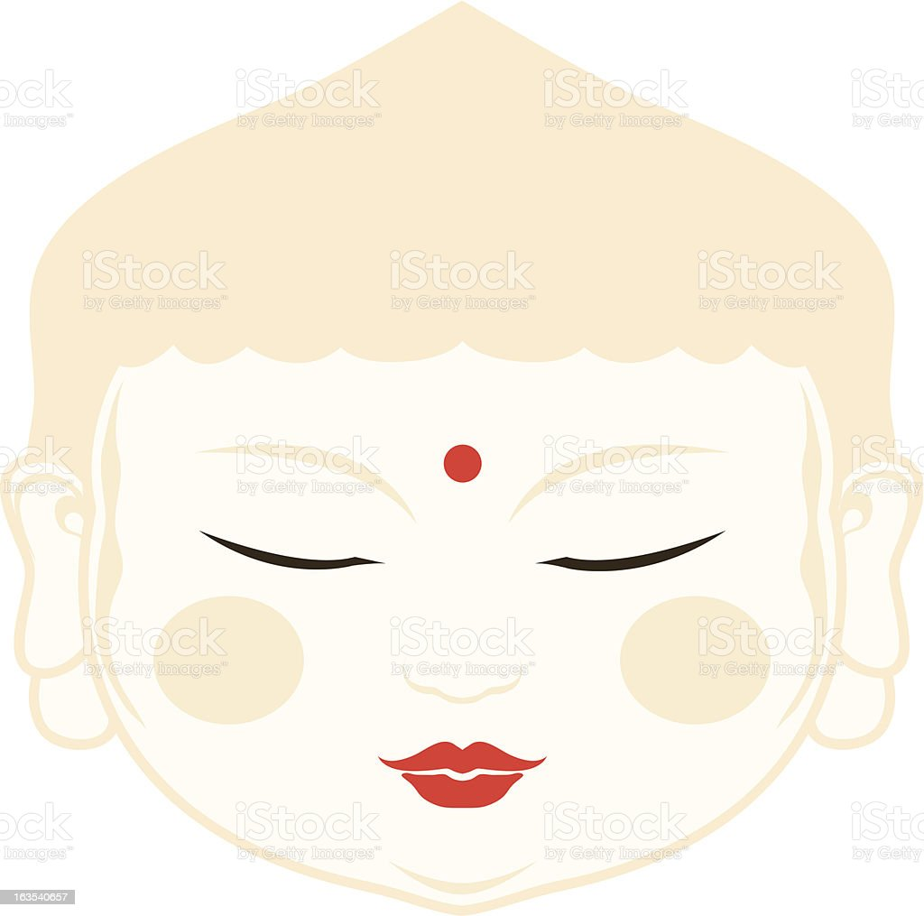 baby buddha royalty-free stock vector art