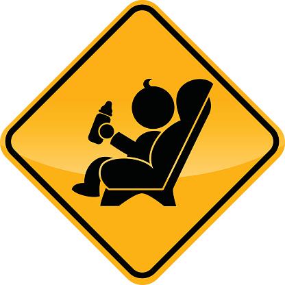 baby car seat sign