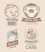 Baby care emblems