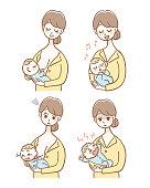 赤ちゃんのお世話セット